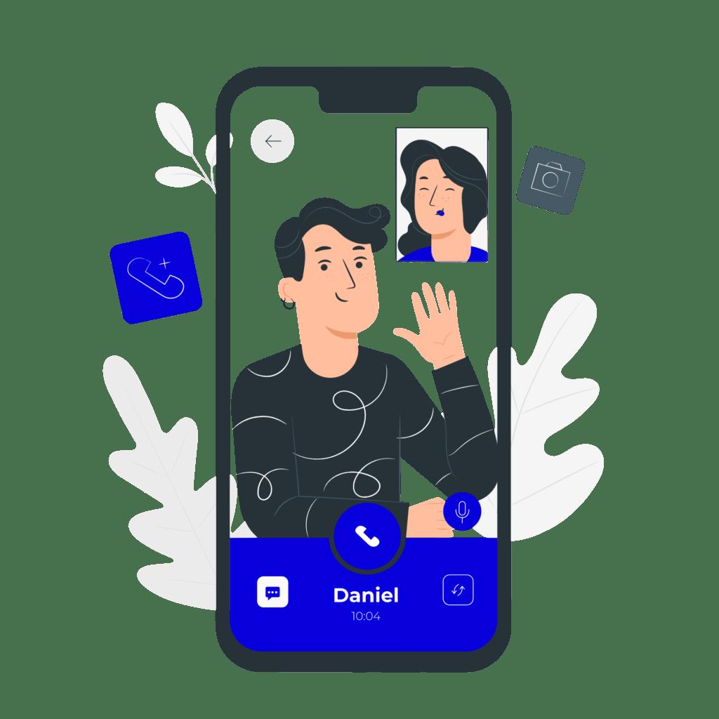 Video call-pana